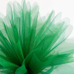 Bottle Green Organza Tulle Bomboniere Wedding Favour Nets - 50 Pack - Button Blue Crafts