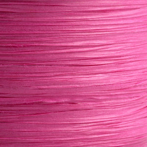 Fuchsia Pink 7mm Paper Raffia - Italian Options Tying Ribbon - Button Blue Crafts