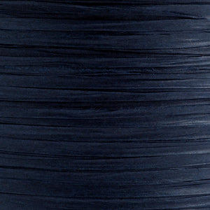 Navy Blue 7mm Paper Raffia - Italian Options Tying Ribbon - Button Blue Crafts