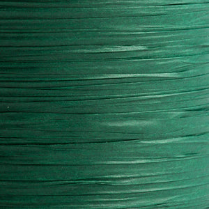 Bottle Green 7mm Paper Raffia - Italian Options Tying Ribbon - Button Blue Crafts