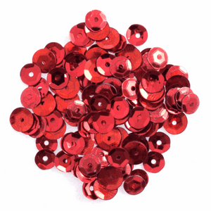 Red Sequins - 500 x 5mm - Crafts, Card Making, Costume Making