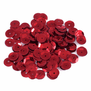Red Sequins - 160 x 8mm - Crafts, Card Making, Costume Making