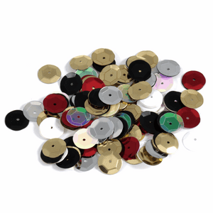 Multi Colour Sequins - 10mm x 120 - Crafts, Card Making, Costume Making