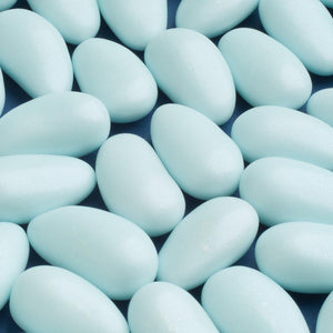 Pearlised Blue High Quality Sugared Almonds - Wedding Favours, Christening Favours, Sweet carts
