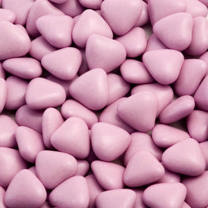 Lilac Luxury Chocolate Mini Heart Dragees - Wedding Favours, Christening Favours, Sweet carts