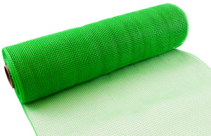 Eleganza Apple Green Deco Mesh - 3 Widths - Button Blue Crafts