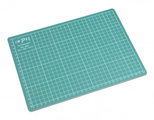 Trimits Small A4 Self Healing Cutting Mat - Button Blue Crafts