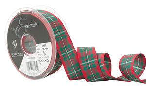 Berisfords Tartan Ribbon - Macgregor - Button Blue Crafts
