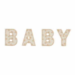 Baby Neutral Motif - Iron Sew On - Embroidered Applique