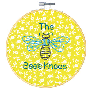Dimensions Learn a Craft Crewel Embroidery Kit - The Bees Knees - Button Blue Crafts