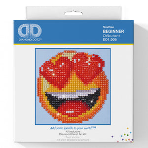 Smitten - Diamond Dotz Complete Diamond Painting Facet Art Kit