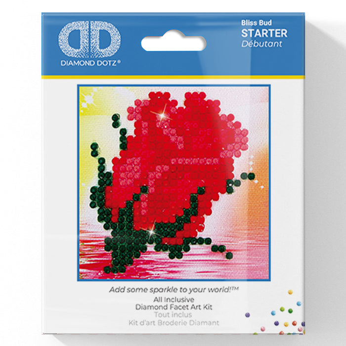 Bliss Bud - Diamond Dotz Complete Diamond Painting Facet Art Kit