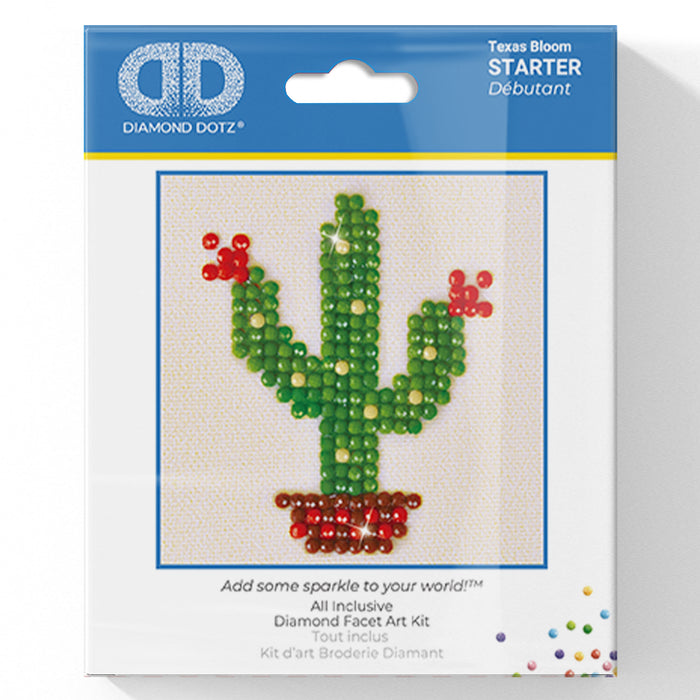 Texas Bloom - Diamond Dotz Complete Diamond Painting Facet Art Kit