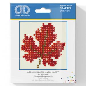 Autumn Dream - Diamond Dotz Complete Diamond Painting Facet Art Kit - Button Blue Crafts