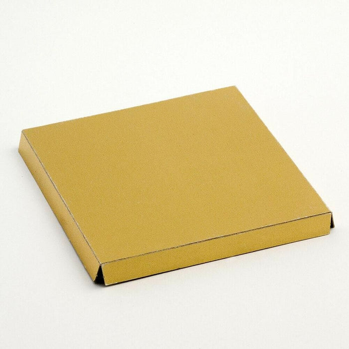 Gold 12cm Square Platform For Transparent Favour Boxes - Wedding Favours, Homemade Gifts and Treat Display