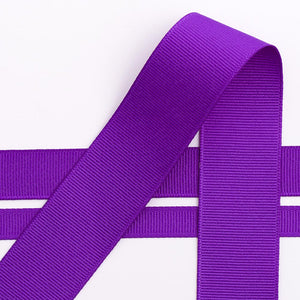 Purple Grosgrain Ribbon - 10mm, 16mm, 25mm, 38mm - Button Blue Crafts
