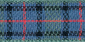 Berisfords Tartan Ribbon - Flower of Scotland - Button Blue Crafts