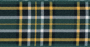 Berisfords Tartan Ribbon - Irish National - Button Blue Crafts