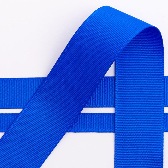 Royal Blue Grosgrain Ribbon - 10mm, 16mm, 25mm, 38mm