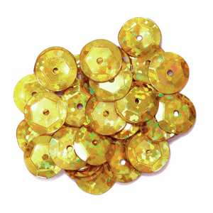 Gold Sequins - 6mm - 3g - Crafts, Card Making, Costume Making