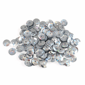 Silver Sequins - 6mm - 3g - Crafts, Card Making, Costume Making