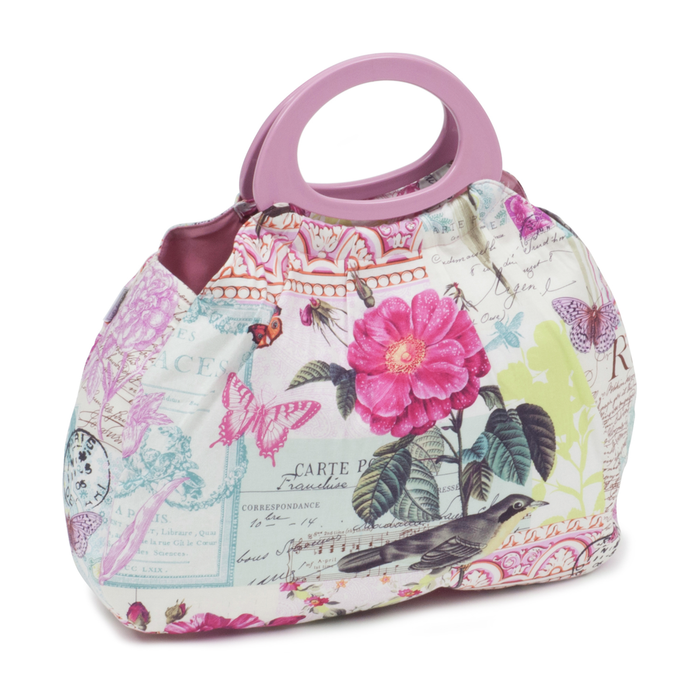 HobbyGift Belle Rose Gathered Knit Bag HGGB/483