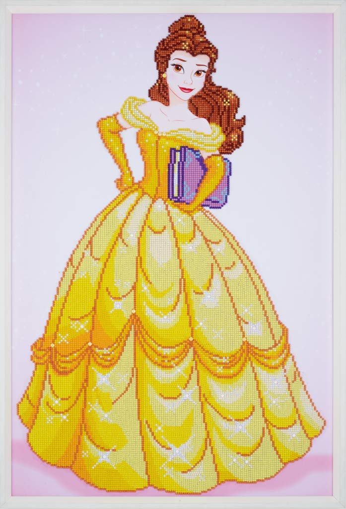 Belle - Beauty & The Beast Vervaco Disney Princess Diamond Rhinestone Painting Kit