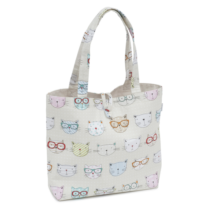 HobbyGift Cool Cats Craft Tote Shoulder Bag HGSHB/450