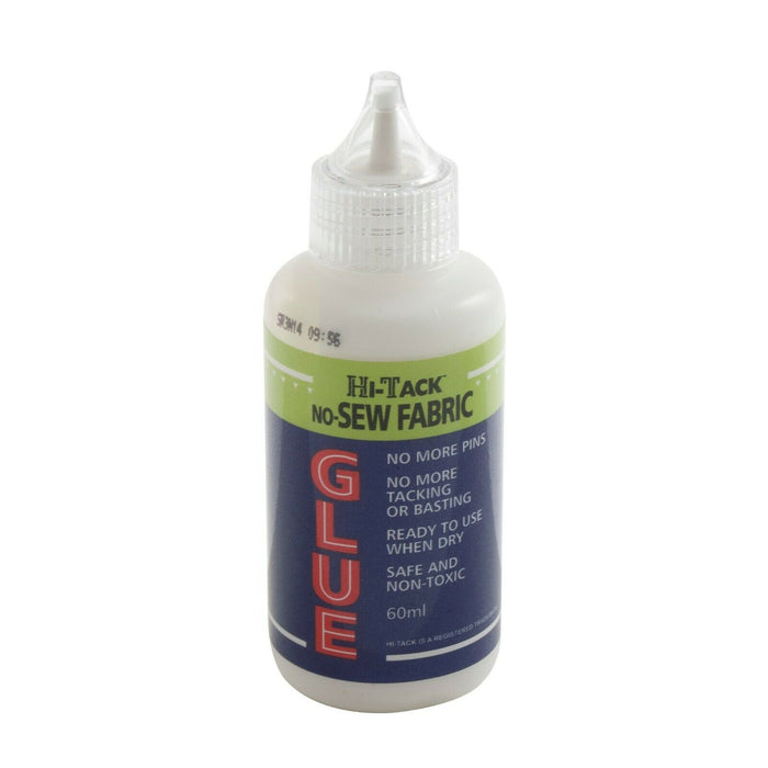 Hi-Tack Very Sticky No-Sew Glue - 60ml Bottle