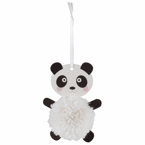 Panda - DIY Pom Pom Craft Kit - Tree Window Hanging Decoration - Children's Crafts