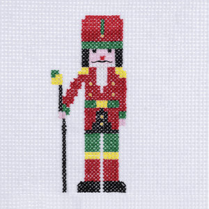 Nutcracker - Christmas Counted Cross Stitch Kit - Beginners/Childrens Starter - Trimits