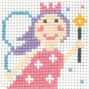 Lola Fairy - Anchor Counted Cross Stitch Kit - Children / Beginners Cross Stitch Kit - 1st Kit