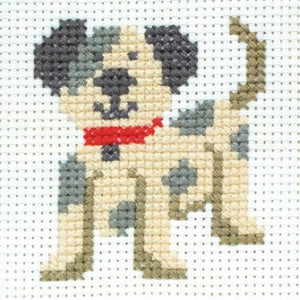 Toby The Dog - Anchor Counted Cross Stitch Kit - Children / Beginners Cross Stitch Kit - 1st Kit