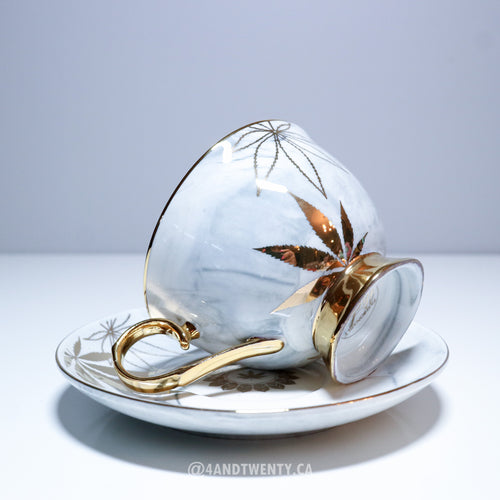 Limited Edition Luxe High Tea Cup & Saucer by Fashionably High