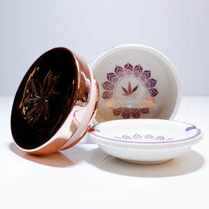 Flora Stash Box & Ashtray - Limited Edition by Fashionably High