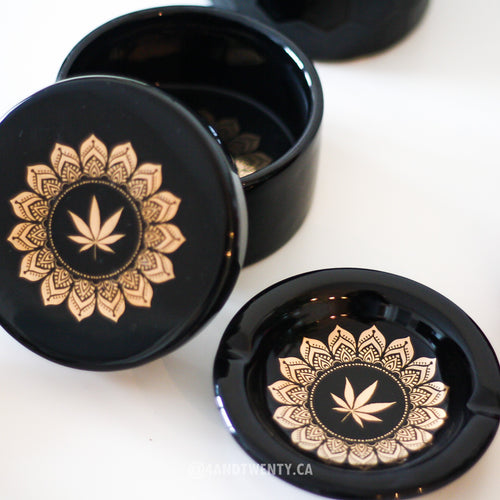 Blunt Opulence Stash Box & Ashtray - Limited Edition by Fashionably High