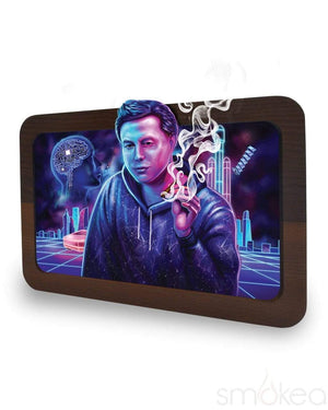 "V Syndicate ""Space Xhale"" High-Def 3D Rolling Tray"