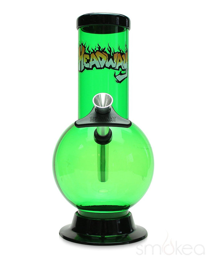 "Headway 8"" Bubble Acrylic Bong"