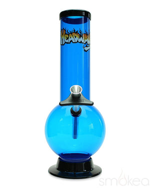 "Headway 10"" Bubble Acrylic Bong - SMOKEA"