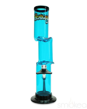 "Headway 12"" Double Bend Acrylic Bong"