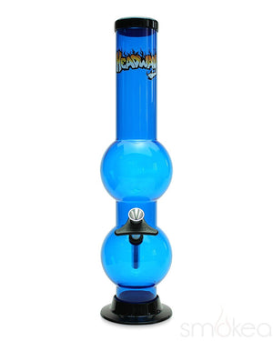 "Headway 14"" Double Bubble Acrylic Bong - SMOKEA"