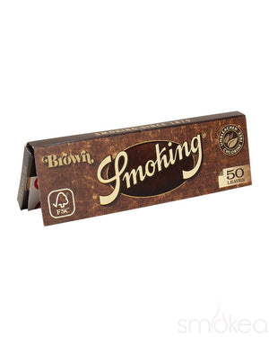 Smoking Brown Medium 1 1/4 Unbleached Rolling Papers