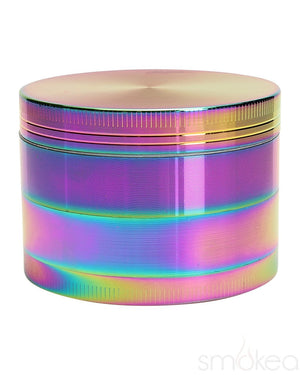 "SMOKEA 2.5"" 4pc Rainbow Metallic Grinder - SMOKEA"
