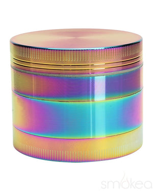 "SMOKEA 2.2"" 4pc Rainbow Metallic Grinder - SMOKEA"
