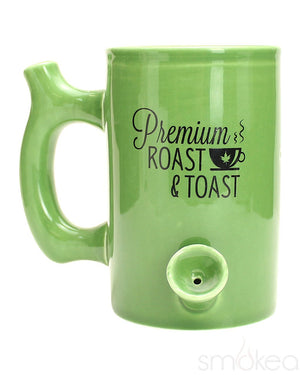 SMOKEA Roast & Toast Ceramic Coffee Mug Pipe - SMOKEA