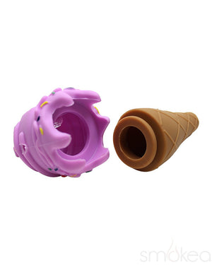 SMOKEA Silicone Ice Cream Cone Pipe - SMOKEA