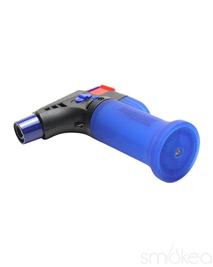 Turbo Blue Mini Butane Torch Lighter - SMOKEA