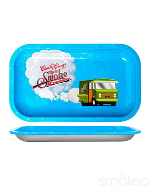 Cheech & Chong's Up in Smoke Blue Rolling Tray