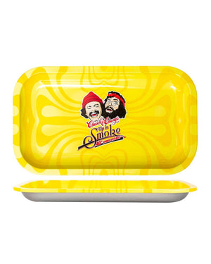 Cheech & Chong's Up in Smoke Yellow Rolling Tray