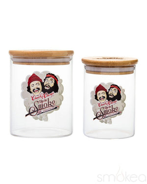 Cheech & Chong Heads Stash Jar